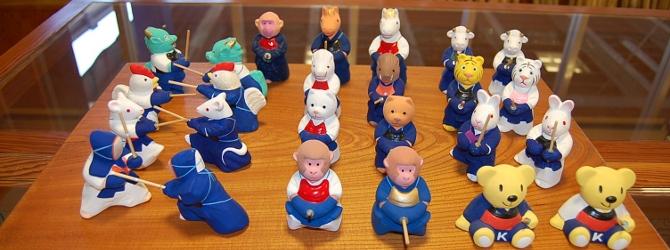 バナー 人形